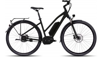 Ghost Andasol trekking 9 E-Bike bici completa da donna . black/black mod. 2016