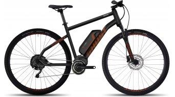 Ghost Square Cross 4 AL 29 E-Bike bici completa mis. XL black/monarch arancione/urban gray mod. 2017