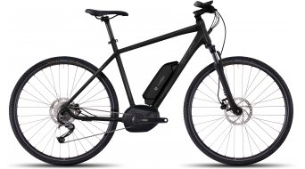 Ghost Andasol Cross 2 AL E-Bike Komplettrad black/micro chip gray/titanium gray Mod. 2017