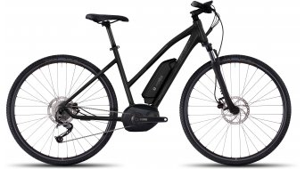 Ghost Andasol Cross 2 AL e-bike fiets damesfiets maat XS black/micro chip gray/titanium gray model 2017