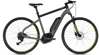 "Ghost Hybride Square Cross B2.9 AL U 29"" E-Bike Komplettrad Gr. M urban grey/night black Mod. 2018"