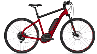 "Ghost Hybride Square Cross B4.9 AL en 29"" e-bike fiets riot red/night black model"