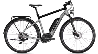 "Ghost Hybride Square Trekking B5.8 AL U 28"" E-Bike Komplettrad palladium silver/night black Mod. 2018"