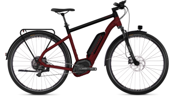 "Ghost Hybride Square trekking B8.8 AL U 28"" E- vélo vélo taille classic red/night black Mod. 2018"
