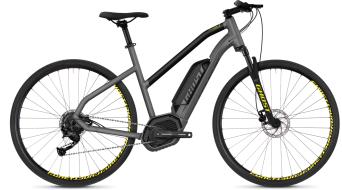 """Ghost Hybride Square Cross B2.9 AL W 29"""" e-bike fiets damesfiets black model 2018"""
