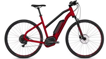"Ghost Hybride Square Cross B4.9 AL W 29"" E- vélo vélo femmes-roue taille riot red/night black Mod. 2018"