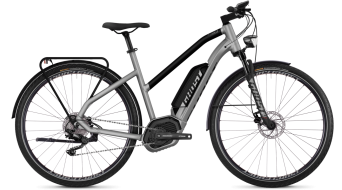 "Ghost Hybride Square Trekking B5.8 AL W 28"" elektromos kerékpár komplett kerékpár női-Rad Méret L palladium ezüst/night black 2018 Modell"