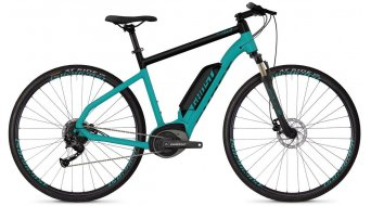 "Ghost Hybride Square Cross B1.8 AL U 28"" E-Bike bici completa electric azul/jet negro Mod. 2019"