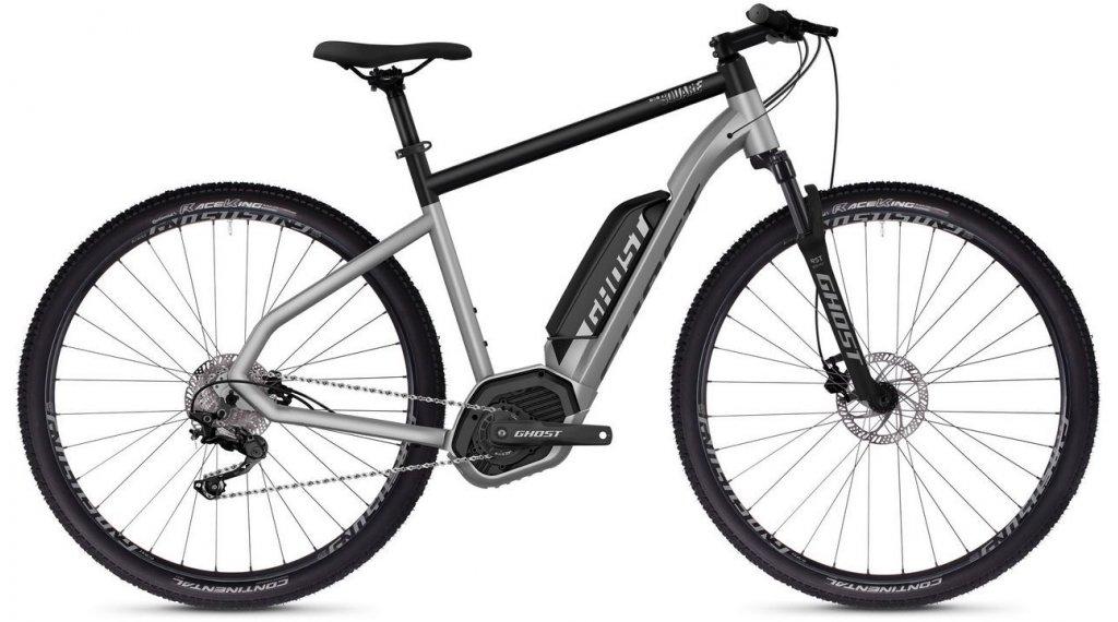 "Ghost Hybride Square Cross B2.9 AL U 29"" E-Bike 整车 型号 S iridium silver/jet black 款型 2019"