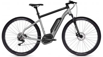 "Ghost Hybride Square Cross B2.9 AL en 29"" e-bike fiets iridium silver/jet black model 2019"