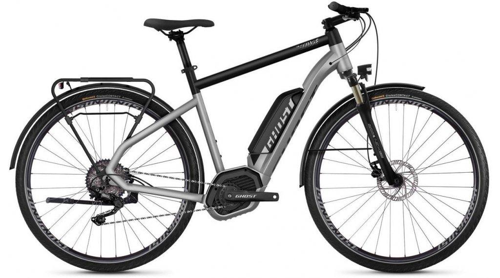 "Ghost Hybride Square Trekking B2.8 AL U 28"" E-Bike 整车 型号 S iridium silver/jet black 款型 2019"