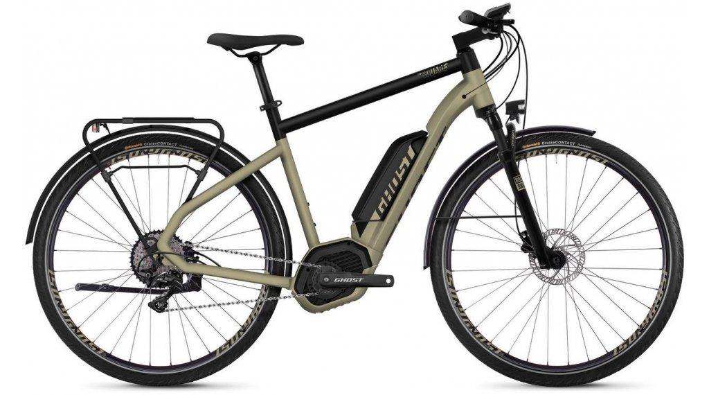 "Ghost Hybride Square Trekking B5.8 AL U 28"" E-Bike Komplettrad Gr. S ext gold/jet black Mod. 2019"