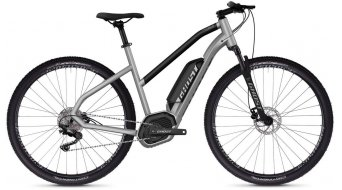 "Ghost Hybride Square Cross B2.9 AL W 29"" e-bike fiets dames iridium silver/jet black model 2019"