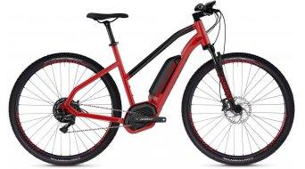 "Ghost Hybride Square Cross B4.9 AL W 29"" E- vélo vélo femmes taille riot red/jet black Mod. 2019"