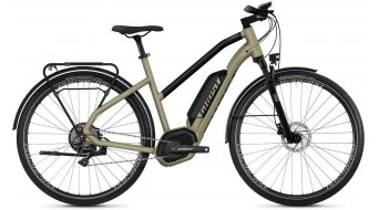 "Ghost Hybride Square trekking B5.8 AL W 28"" e-bike fiets dames ext goud/jet black model 2019"