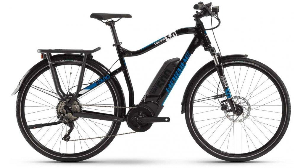 "Haibike SDURO Trekking 3.0 28"" E-Bike Komplettrad Herrren Gr. S schwarz/weiß/blau Mod. 2020"