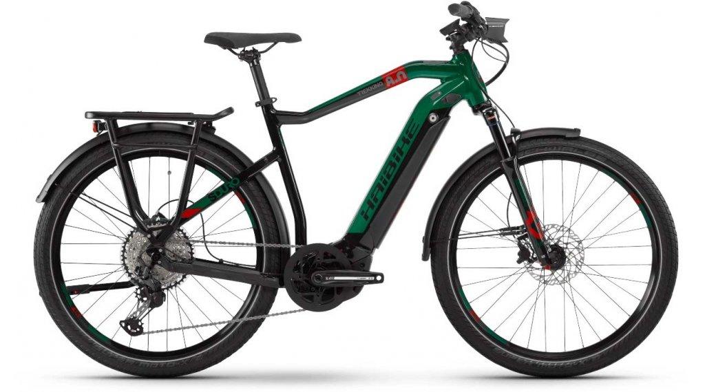 "Haibike SDURO Trekking 8.0 27.5"" E-Bike Komplettrad Herrren Gr. M schwarz/rot/kingston Mod. 2020"