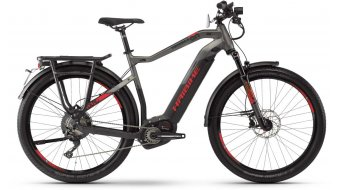 "Haibike SDURO trekking S 9.0 27.5"" E-Bike bici completa Herrren . nero/titanio/rosso opaco mod. 2020"