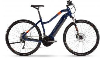 """Haibike SDURO Cross 5.0 28"""" E-Bike 整车 女士 型号 蓝色/橙色/titan 款型 2020"""