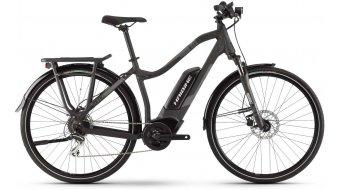 Haibike SDURO trekking 1.0 28 E-Bike trekking bici completa da donna mis. 44 nero/titanio/grigio  opaco mod. 2020