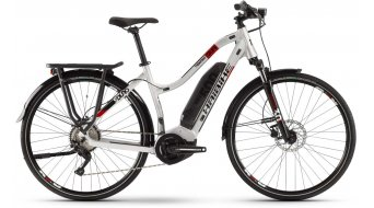 """Haibike SDURO Trekking 2.0 28"""" E-Bike bici completa Señoras color plata/negro/rojo Mod. 2020"""