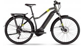 "Haibike SDURO Trekking 2.5 28"" E-Bike Komplettrad Damen Gr. M titan/schwarz/lime Mod. 2020"