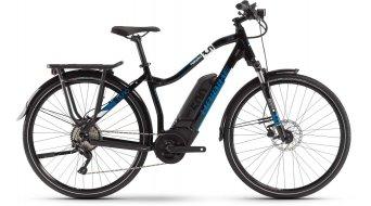 "Haibike SDURO Trekking 3.0 28"" E-Bike Komplettrad Damen schwarz/weiß/blau Mod. 2020"