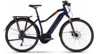 """Haibike SDURO Trekking 5.0 28"""" E-Bike Komplettrad Damen Gr. L blau/orange/titan Mod. 2020"""