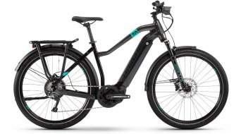 "Haibike SDURO Trekking 7.0 27.5"" E-Bike Komplettrad Damen schwarz/türkis/anthrazit Mod. 2020"
