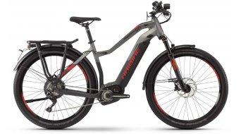 """Haibike SDURO Trekking S 9.0 27.5"""" E-Bike Komplettrad Damen schwarz/titan/rot matt Mod. 2020"""