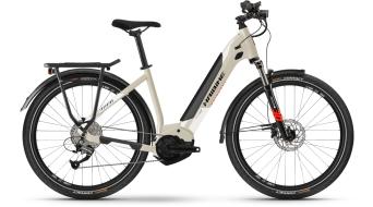 """Haibike Trekking 4 Lowstep 27.5"""" elektromos kerékpár Trekking komplett kerékpár Méret_L desert/white 2021 Modell"""