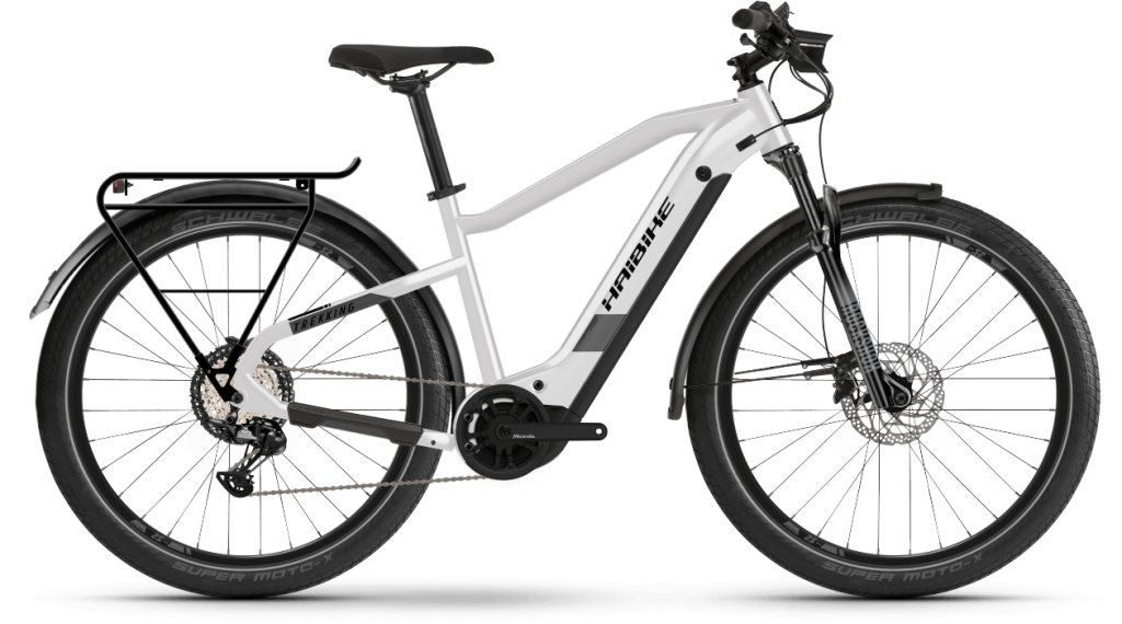 Haibike Trekking 8 27.5 E-Bike Trekking Komplettrad Gr. S sparkling white Mod. 2021