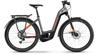 """Haibike Trekking 10 Lowstep 27.5"""" elektromos kerékpár Trekking komplett kerékpár titán/lava matte 2021 Modell"""