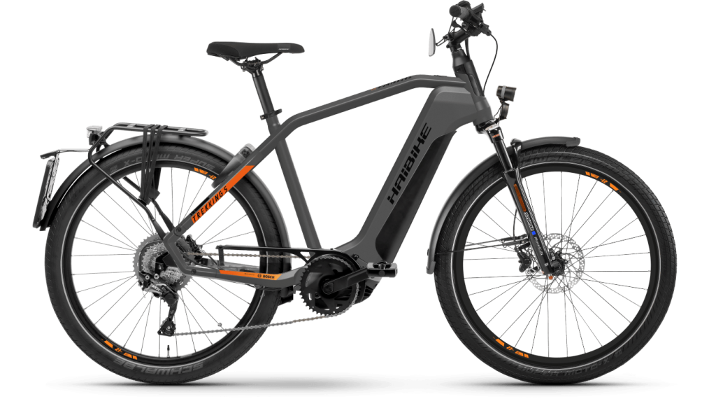 Haibike Trekking S 10 27.5 E-Bike Trekking bici completa tamaño M titan/lava matte Mod. 2021