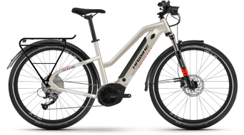 """Haibike Trekking 4 Lowállóover 27.5"""" elektromos kerékpár Trekking komplett kerékpár desert/white 2021 Modell"""