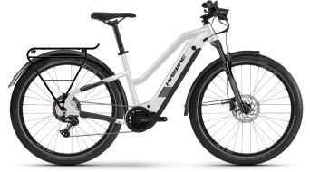Haibike trekking 8 Lowstandover 27.5 e-bike trekking fiets sparkling#*en*#wit model 2021
