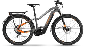 """Haibike Trekking 10 Lowállóover 27.5"""" elektromos kerékpár Trekking komplett kerékpár titán/lava matte 2021 Modell"""