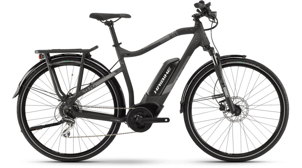Haibike SDURO Trekking 1.0 28 E-Bike Trekking Komplettrad Gr. M schwarz/titan/grau matt Mod. 2021