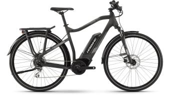 Haibike SDURO trekking 1.0 28 E-Bike trekking bici completa . nero/titanio/grigio opaco mod. 2021
