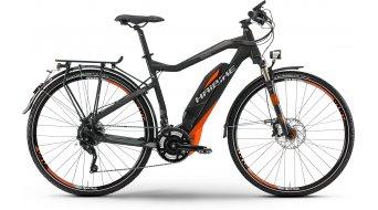 Haibike SDURO Trekking S RX 28 elektromos kerékpár S-Pedelec Méret 52cm fekete/piros/szürke matt Yamaha 45km/h-meghajtás 2016 Modell