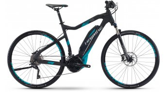 Hai bike SDURO Cross 5.0 28 E- bike men bike size 48cm black/cyan matt Yamaha PW-Antrieb 2017