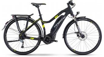 Haibike SDURO Trekking 4.0 28 elektromos kerékpár női komplett kerékpár Méret 40cm fekete/titán/lime matt Yamaha PW-meghajtás 2017 Modell