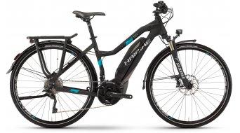 Haibike SDURO trekking 5.0 28 E-Bike da donna bici completa . nero/titanio/cyan opaco Yamaha PW- trasmissione mod. 2017
