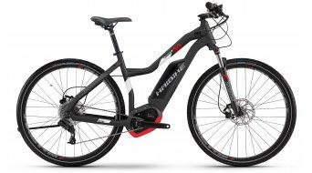 "Haibike XDURO Cross 3.0 28"" E- vélo femmes vélo taille titane/blanc/rouge matt Bosch Performance CX-Antrieb Mod. 2017"