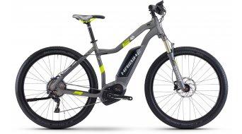 """Haibike XDURO Cross 4.0 28"""" E- vélo femmes vélo taille titane/lime matt Bosch Performance CX-Antrieb Mod. 2017"""