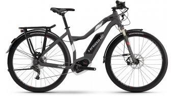 Haibike XDURO Trekking 3.0 28 E-Bike Señoras bici completa titan/blanco(-a)/rojo(-a) color apagado Bosch Performance CX-tracción Mod. 2017