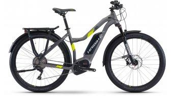 "Haibike XDURO trekking 4.0 28"" E- vélo femmes vélo taille titane/lime matt Bosch Performance CX-Antrieb Mod. 2017"