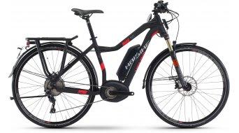 Haibike XDURO Trekking S 5.0 28 S-Pedelec Señoras bici completa negro/rojo color apagado Bosch Performance Speed-tracción Mod. 2017