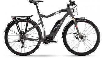 Hai bike XDURO trekking 3.0 28 E- bike men bike titanium/white/red matt Bosch Performance CX-Antrieb 2017