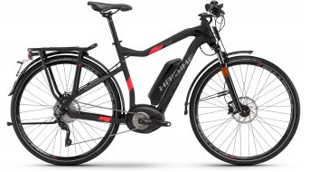 Hai bike XDURO trekking S 5.0 28 S-Pedelec men bike black/red matt Bosch Performance Speed-Antrieb 2017